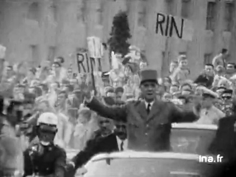 """Discours de Montréal """"Vive le Québec libre"""" - juillet 1967. [INA]"""