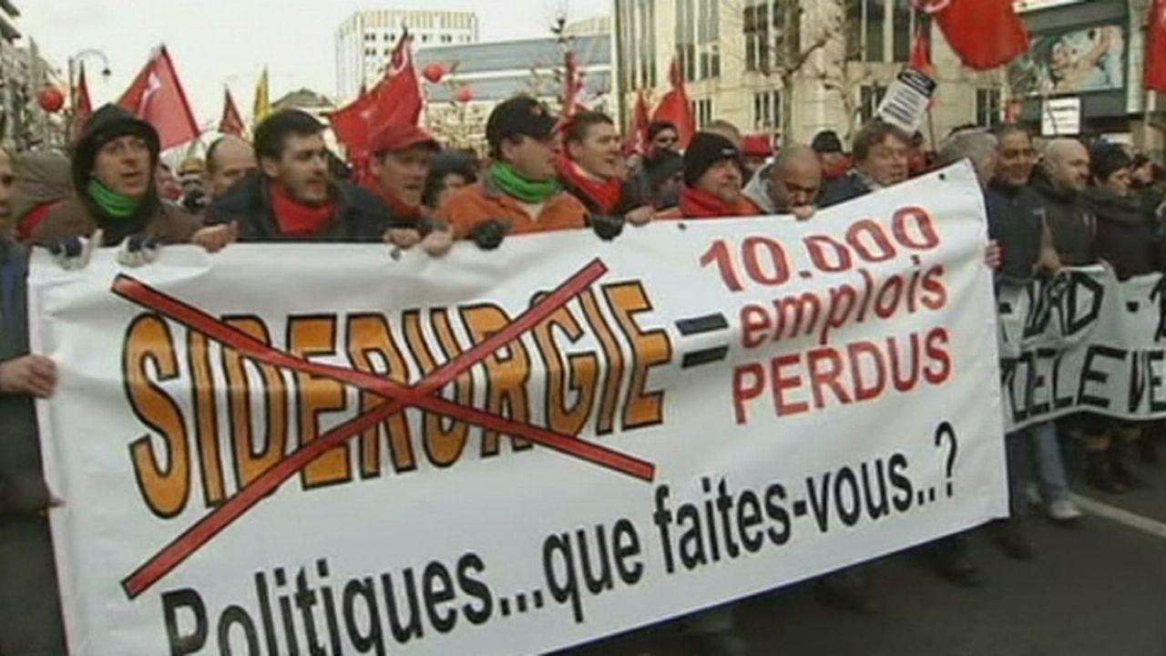 Plus de 30'000 manifestants à Bruxelles