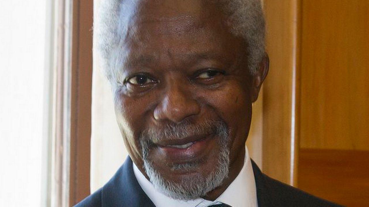 Kofi Annan. [Salvatore Di Nolfi - Keystone]
