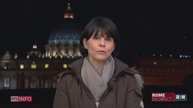 Démission du pape: les explications de Valérie Dupont, à Rome
