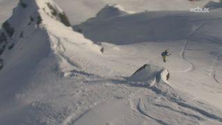 Freeride World Tour: Victoire de Jonathan Charlet sur sa neige