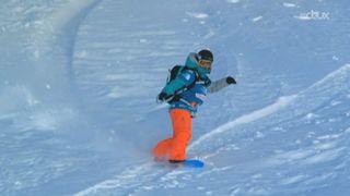 Freeride World Tour: Margot Rozies présente le plus beau run de la journée chez les snowboardeuses