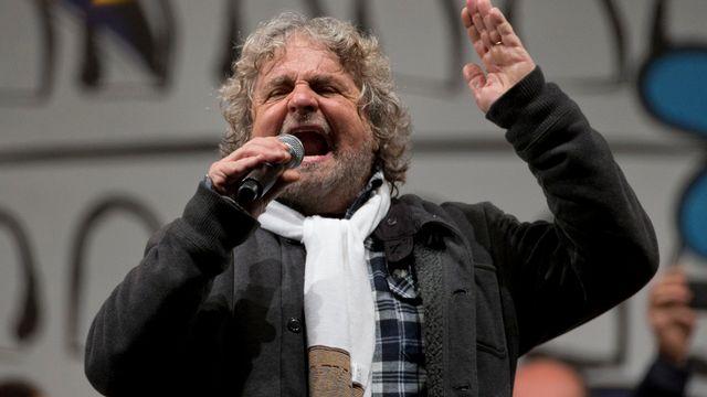 Beppe Grillo [Andrew Medichini) - Keystone]