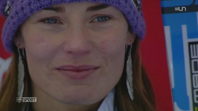 La skieuse slovène Tina Maze a survolé la compétition cet hiver