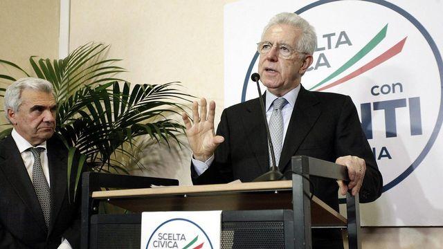 Mario Monti a récolté 22 sièges seulement. [Giuseppe Lami - EPA - Keystone]