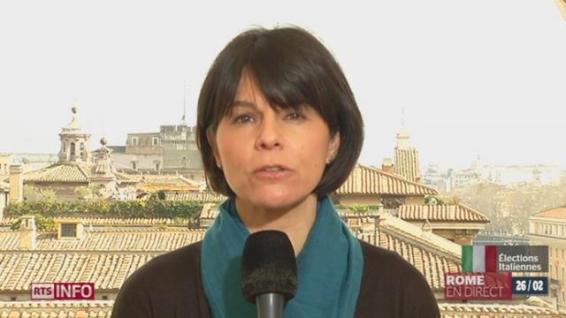 Elections générales en Italie: les explications de Valérie Dupont à Rome