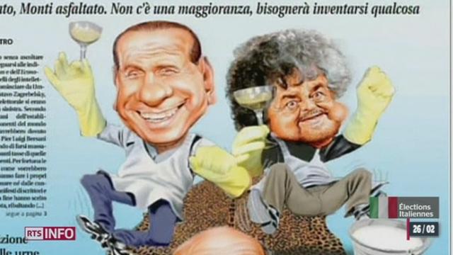 Elections générales en Italie: le pays se retrouve dans une impasse politique