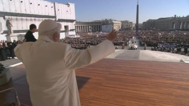 Dernière audience publique pour le pape Benoît XVI