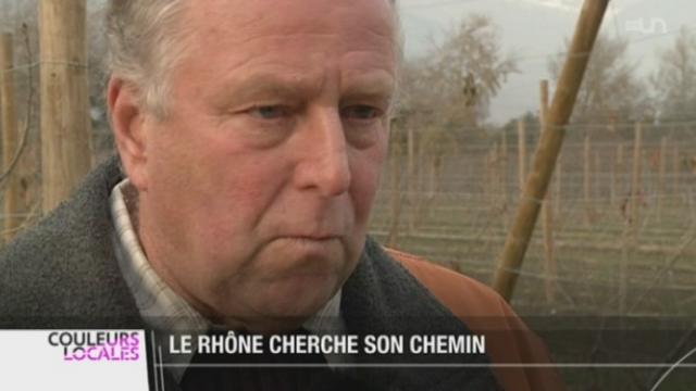 Le projet d'aménagement du Rhône est validé par les gouvernements valaisans et vaudois