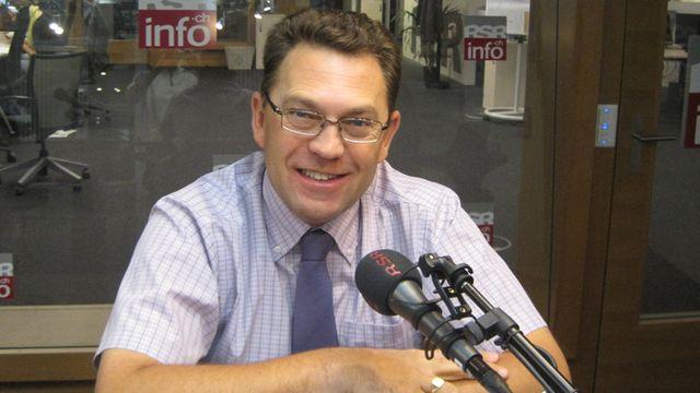 Laurent Wehrli, syndic de Montreux, député PLR au Grand Conseil vaudois. [Ismaele Gonzato]