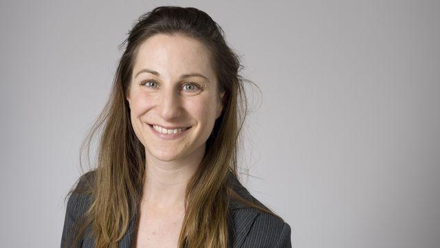 Adèle Thorens, conseillère nationale verte vaudoise. [Gaëtan Bally]