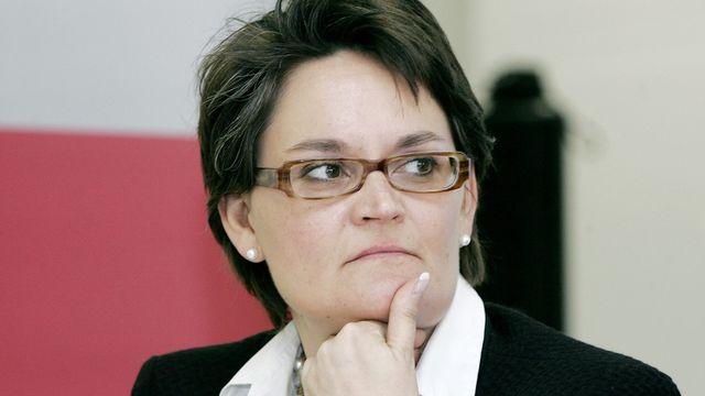 Cristina Gaggini, directrice romande d'Economiesuisse. [Magali Girardin - Keystone]