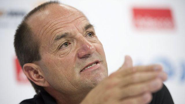 Gian Gilli, directeur de la candidature grisonne pour les JO 2022. [JEAN-CHRISTOPHE BOTT  ]