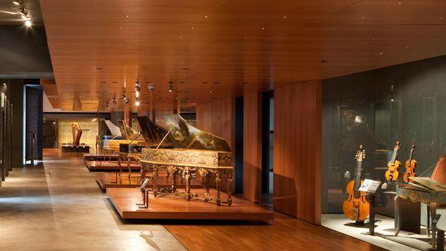 Une vue du Musée de la musique à Paris. [Nicolas Borel - citedelamusique.fr]