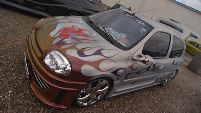 Tuning sur voiture, Scènes de ménage, 2006. [RTS]
