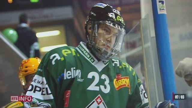 Hockey: le défenseur d'Olten Ronny Keller restera paralysé à vie