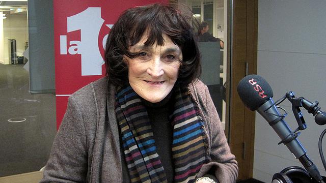 Christiane Jaquet-Berger, présidente de l'AVIVO (l'association de défense des retraités et futurs-retraités) au niveau suisse. [Eric Jutzet - RTS]