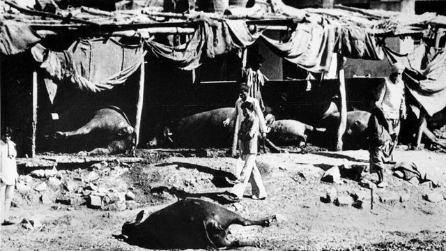 La catastrophe de Bhopal en 1984. [AP Photo/Thiang - Keystone]