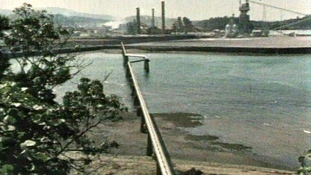 L'usine Chisso à Minamata au Japon. [RTS]