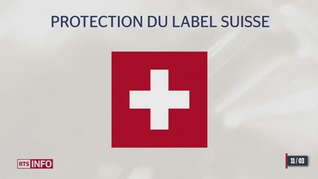 Le Conseil national veut protéger les produits d'origine suisse