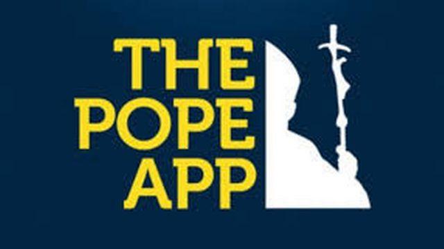 """Le logo de l'application """"Pope App""""."""