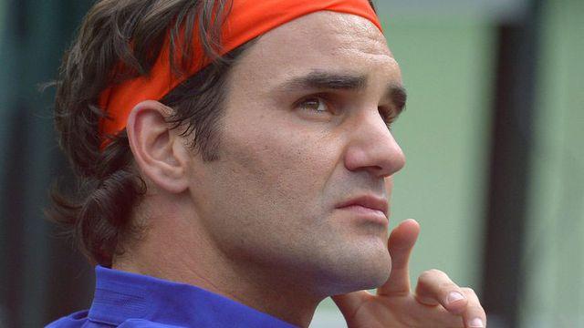 Roger Federer fera une pause de sept semaines de compétition après le tournoi californien. [Mark J. Terrill - AP/Keystone]