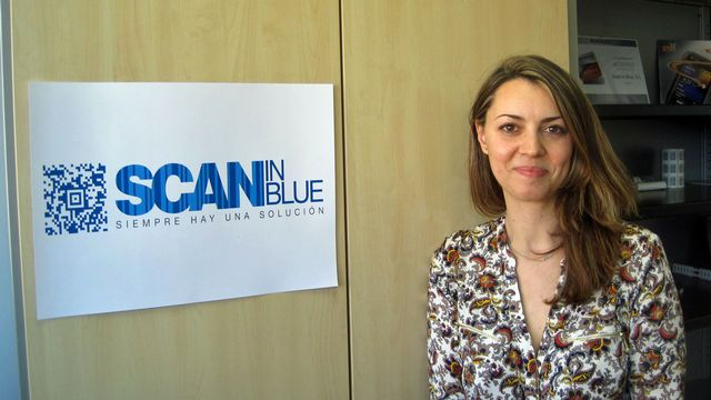 Sara Fernandez, auto-entrepreneur. [Valérie Demon - RTS]