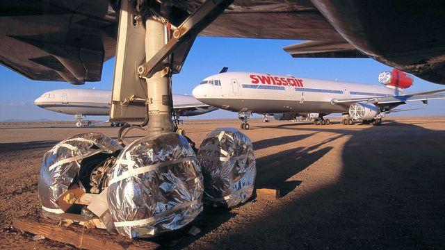 Les 20 MD-11 de Douglas exploités par Swissair depuis 1991 transportaient jusqu'à 249 personnes sur des vols intercontinentaux. [Martin Ruetschi - Keystone]