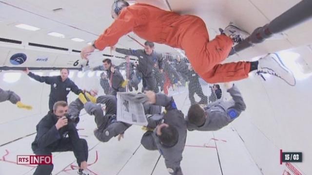 Le premier vol commercial européen en apesanteur est lancé dans l'espace