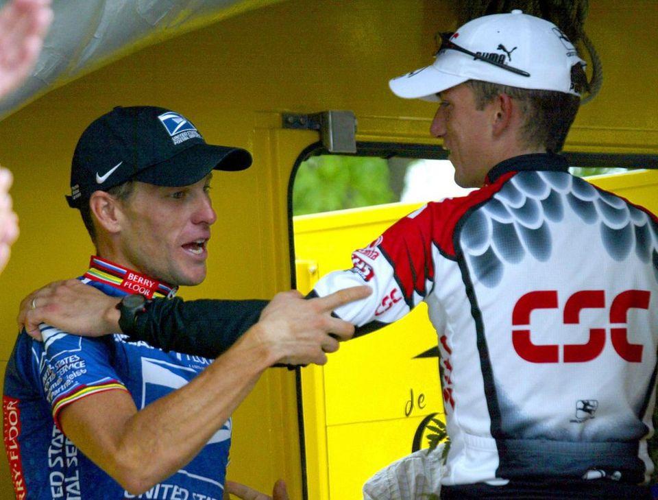 Hamilton a épaulé Armstrong durant trois de ses succès au Tour de France. [BERND THISSEN  - Keystone]
