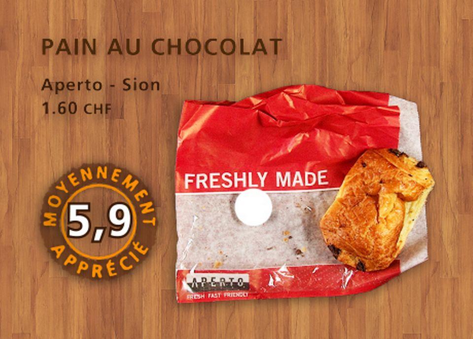 Pain au chocolat, Aperto. [Daniel Bron - RTS]