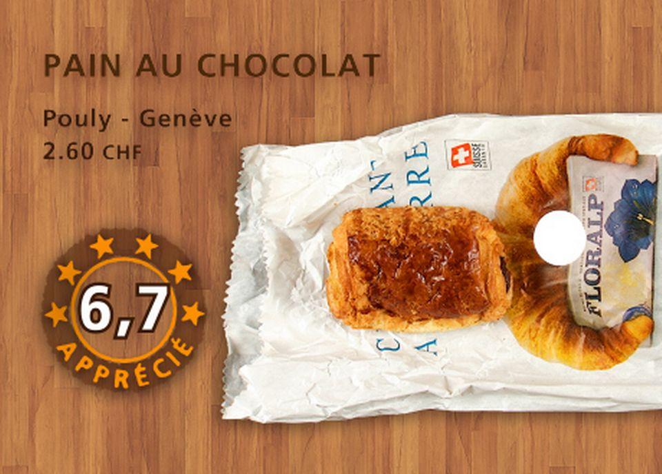 Pain au chocolat, Pouly. [Daniel Bron - RTS]