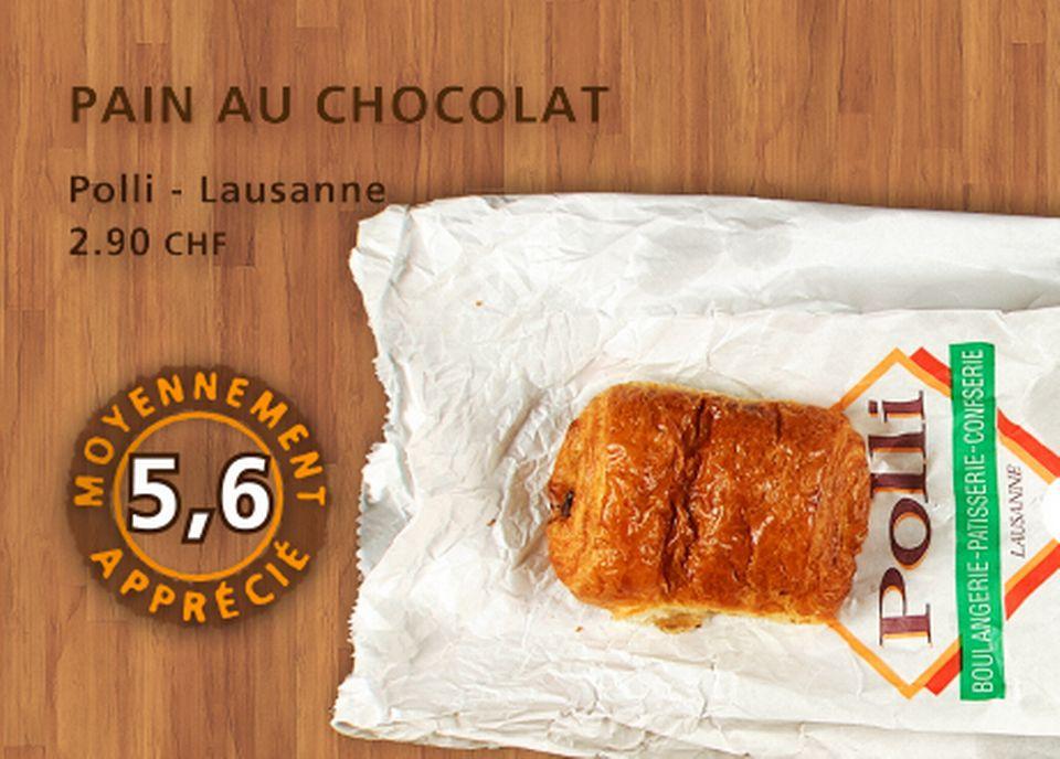 Pain au chocolat, Polli. [Daniel Bron - RTS]
