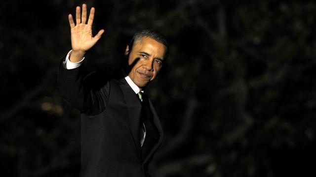 Barack Obama avant son départ pour Tel Aviv. [Susan Walsh - Keystone]