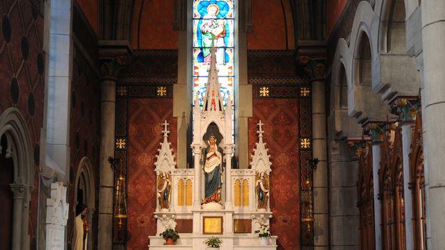 L'église de Notre-Dame de Vevey. [CCRT ]