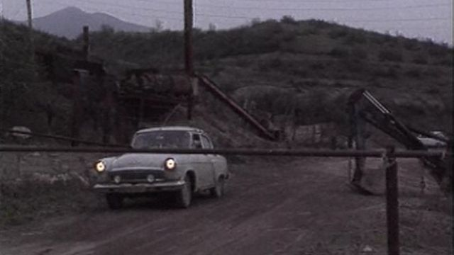 La frontière au Nagorny Karabakh. [TSR ]