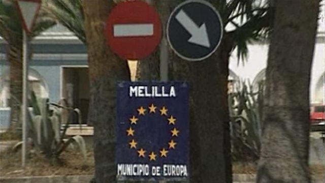 Melilla enclave espagnole au Maroc. [RTS]