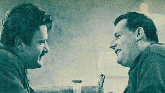 Fernand Berset et Jean-Pierre Goretta. [Yvan Dalain, - Le Radio du 23 octobre 1958]