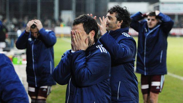Dix ans après la faillite du FC Lugano, l'AC Bellinzone coule également. [STEFFEN SCHMIDT - Keystone]