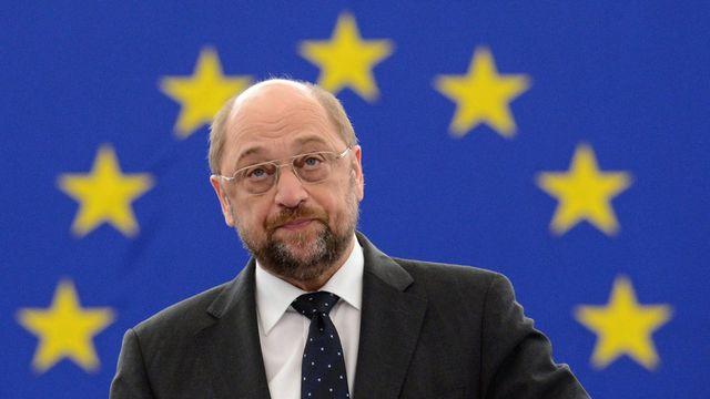Martin Schulz, président du Parlement européen. [Patrick Seeger - Keystone]