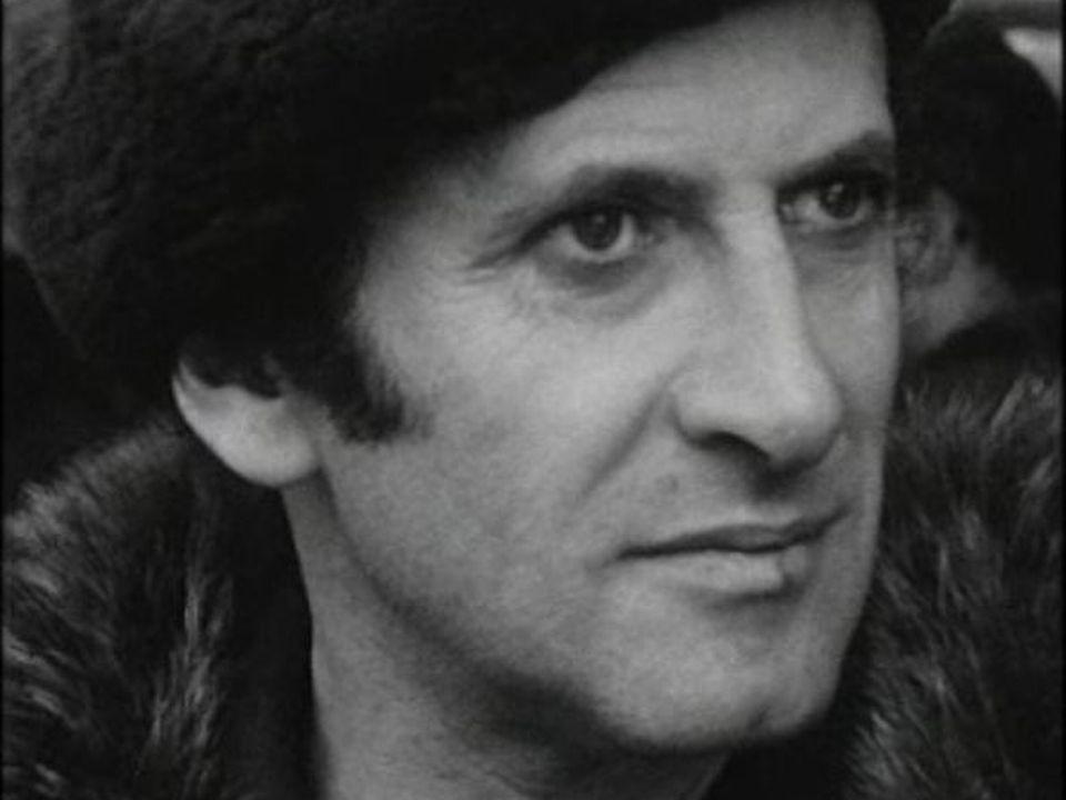 Le mime Marcel Marceau en 1965. [RTS]