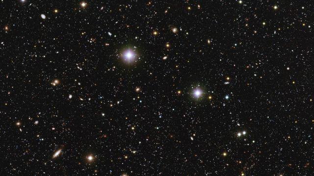 Galaxies clusters [©Mario Nonino, Piero Rosati - ESO]