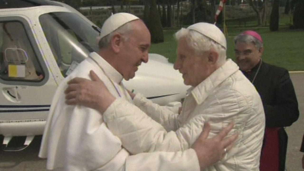 rencontre entre deux papes