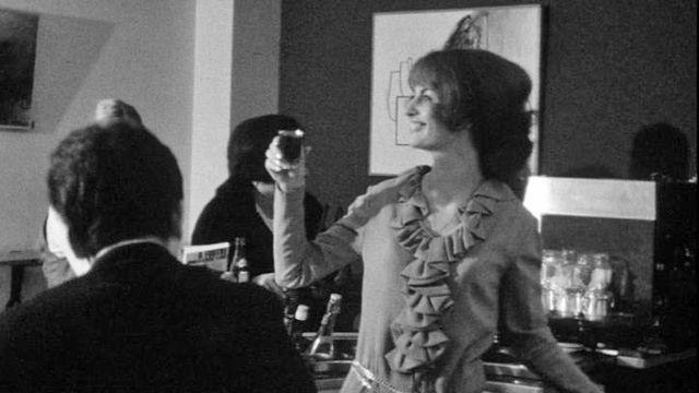 Au Club 44 à la Chaux-de-Fonds en 1970. [RTS]