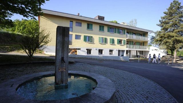 Un des bâtiments du village d'Aigues-Vertes à Bernex, qui accueille des personnes présentant une déficience intellectuelle.  [F. Piraud - Fondation Aigues-Vertes]