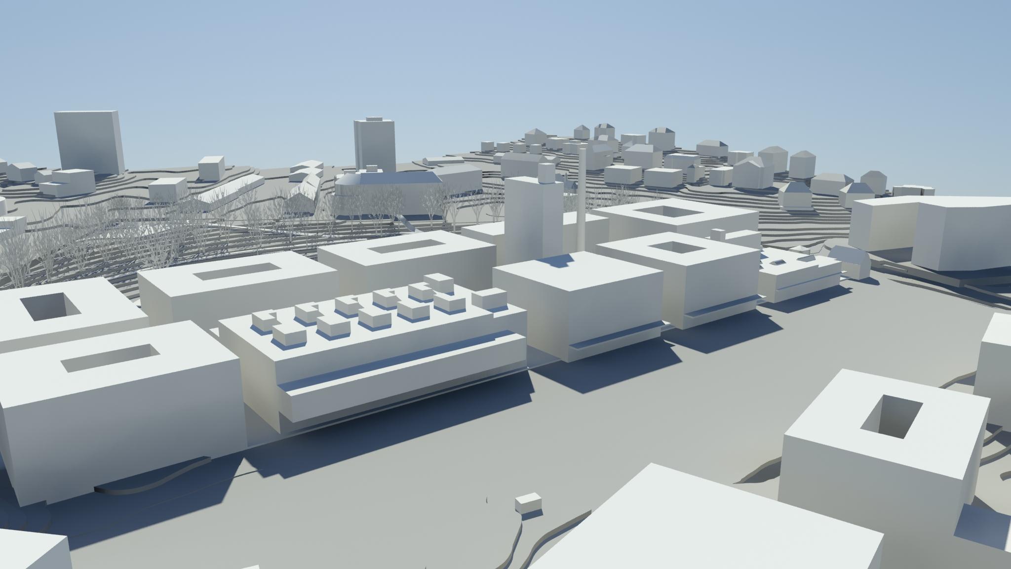 Le projet blue factory à fribourg dévoile ses premiers contours