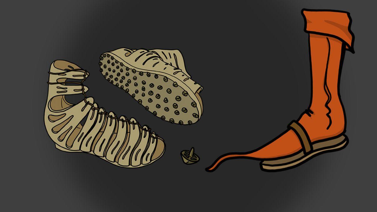 Question sur... Depuis quand porte-t-on des chaussures? [RTS]