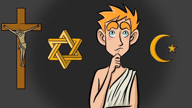 Question sur... Pourquoi les Grecs ont-ils renoncé à leurs Dieux? [RTS]