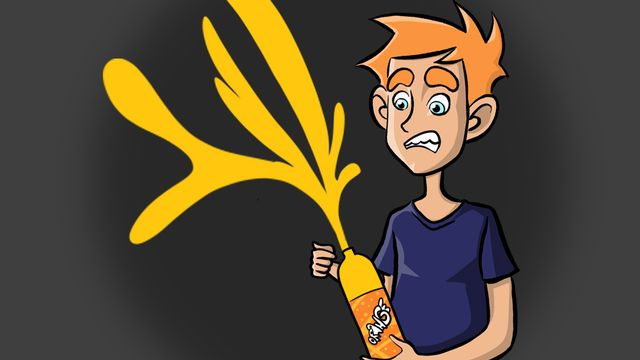Question sur... pourquoi les Boissons gazeuses explosent-elles quand on les secoue ? [RTS]