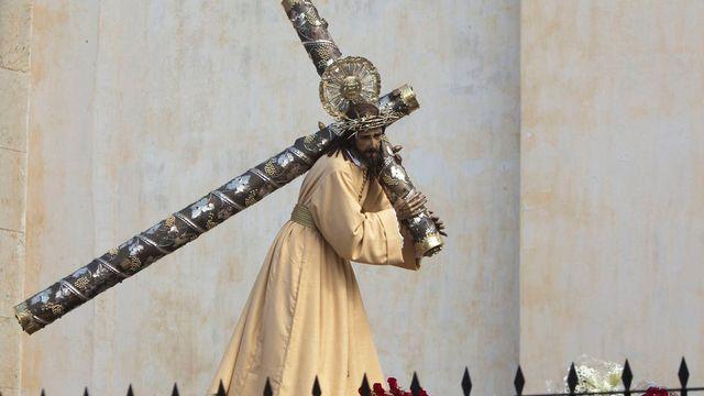 Représentation du Christ à Guatemala City. [Moises Castillo - AP Photo/Keystone]